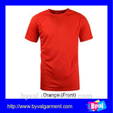 100%Polyester 140gsm Single jersey T-shirts No Logo Made in China