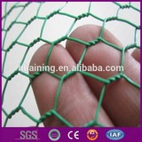 PVC coated hexagonal wire mesh fence