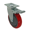 "4""mm Top Plate Swivel PP+PU Industrial Caster and Wheel"