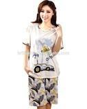 persenality style pajama beauty printe pajama fashion Women Pajama casual pajamas fashion pajamas