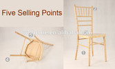 Wholesale UK style wooden chiavari chair, lime washi UK tiffany chair, banquet chair for wedding
