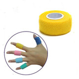 Elasitc Cohesive adherent wrap sports tape bandage