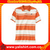 custom strip mens golf polos