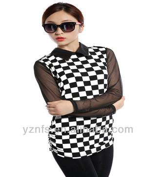 2013 new hot fashion autumn women clothing cotton cute casual high street sheath active sexy tops