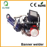 2015 hot sale ce approved hot air banner welding machine