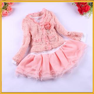 2015 Appliqued Fashion Kids Party Wear Girl Dresses Girl