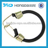 elastic cord with two metal hooks handle , 10 mm elastic rope, bungee cord, strong elastic bungee cord