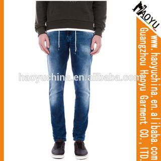 2015 fashion wash denim jeans men designer jeans Men fancy jeans (HYM2104)