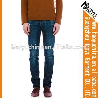 2015 Multi-pockets jeans for men High waisted jeans for men Top 10 jeans brands men (HYM2105)