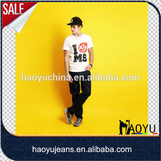 OEM manufacturer hot sell fashion new men jeans(HYM2264)