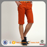 2015 fashion custom cotton wholesale chino men short pants
