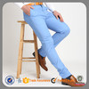 Slim cotton chino trousers latest design mens skinny pants