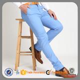 Slim cotton chino trousers latest design mens skinny pants