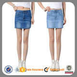 wholesale women mini patterns knee length denim skirts