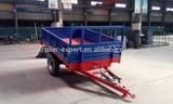 2ton tipping trailer farm trailer matched with18-24hp tractor trailer for sale