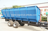 EU aid trailer, atv tow behind trailer new agricultural machines names and uses with CE