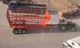 Load 12ton trailer farm trailer tractor trailer cane transport trailer for africa
