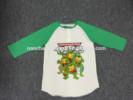 2014 100% cotton soft single jersey custom t-shirt printing for girl,kid elongated t shirt