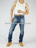 hot sale high quality stylish men's denim jeans