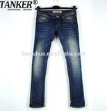 OEM/Wholesale 2015 new fashion jeans HIGH-END100% cotton jeans men