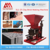 1-25 automatic machine for clay brick unfired, cement soil block making machine