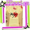 Ladies 100 cotton t shirt t-shirt silk screen printing women short sleeves t-shirt