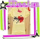 Ladies 100 cotton t shirt t-shirt silk screen printing women short sleeves t-shirt