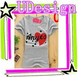 Ladies 100% cotton tshirt t shirt china wholesale design ladies slim fit short sleeve t-shirt