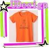 Factory price orange 95% cotton 5% elastane t-shirts cotton t-shirts manufacturers t shirt plain blank