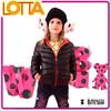 B&W Bear OEM Colorful Winter Girl Down Jacket