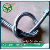 Steel Braided Teflon Hose 3/16""