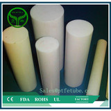 100% virgin material pure white color molded ptfe rod