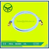 Pure White PTFE Pipe Supplier / White Teflon Tubing / Virgin PTFE Tube