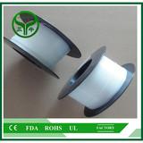 Plastic teflon hollow round bar PTFE Tube