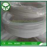 white long virgin tiny diameter ptfe tubes Transparent PTFE hose , PTFE tube