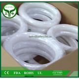 High temperature White ptfe teflon tube