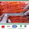 2015 the very best price orange plastic safety netting fencing barriers