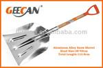 garden tool stainless steel snow shovel