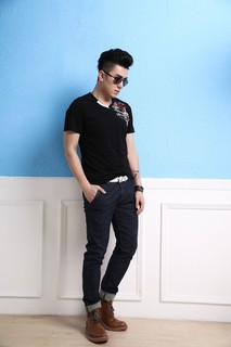 Black printed shirts,100% cotton shirts,fashion slim fit short sleeve shirts