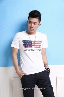 Flag printed cotton shirts,Top quality OEM shirts, wholesale Men's shirts