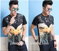 Men's cotton printed shirts,Adverstising fashion pure cotton T-shirts
