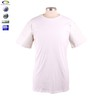 Brand fashion custom cheap blank 100% cotton zip t-shirt