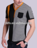 Man's V fashion leisure mercerized cotton T-shirt
