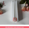 Hot sale difference size wholesale white candle