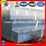 BS1387 60x60 hot dip pre galvanized square steel pipe