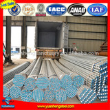 China manufacturer of Hot rolled zinc coated steel pipe