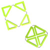 Silicone square folded table mat tableware kitchen accessories