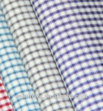 shaoxing textile woven Technics soft check shirting fabric