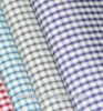 2015 textile woven Technics soft check shirting fabric