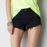 black sexy jean shorts for women distressed wholesale short jeans JXY057